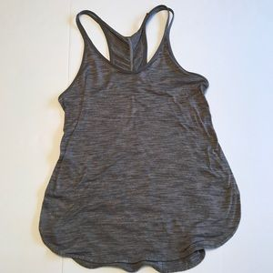 Lululemon Lightweight Gray Workout Tank Size 4